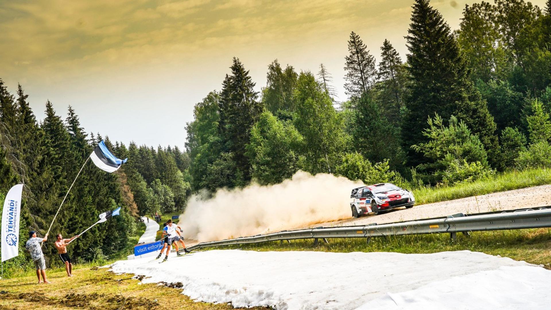 Rally Estonia 2021: Re-Live SS5 Kambja 1
