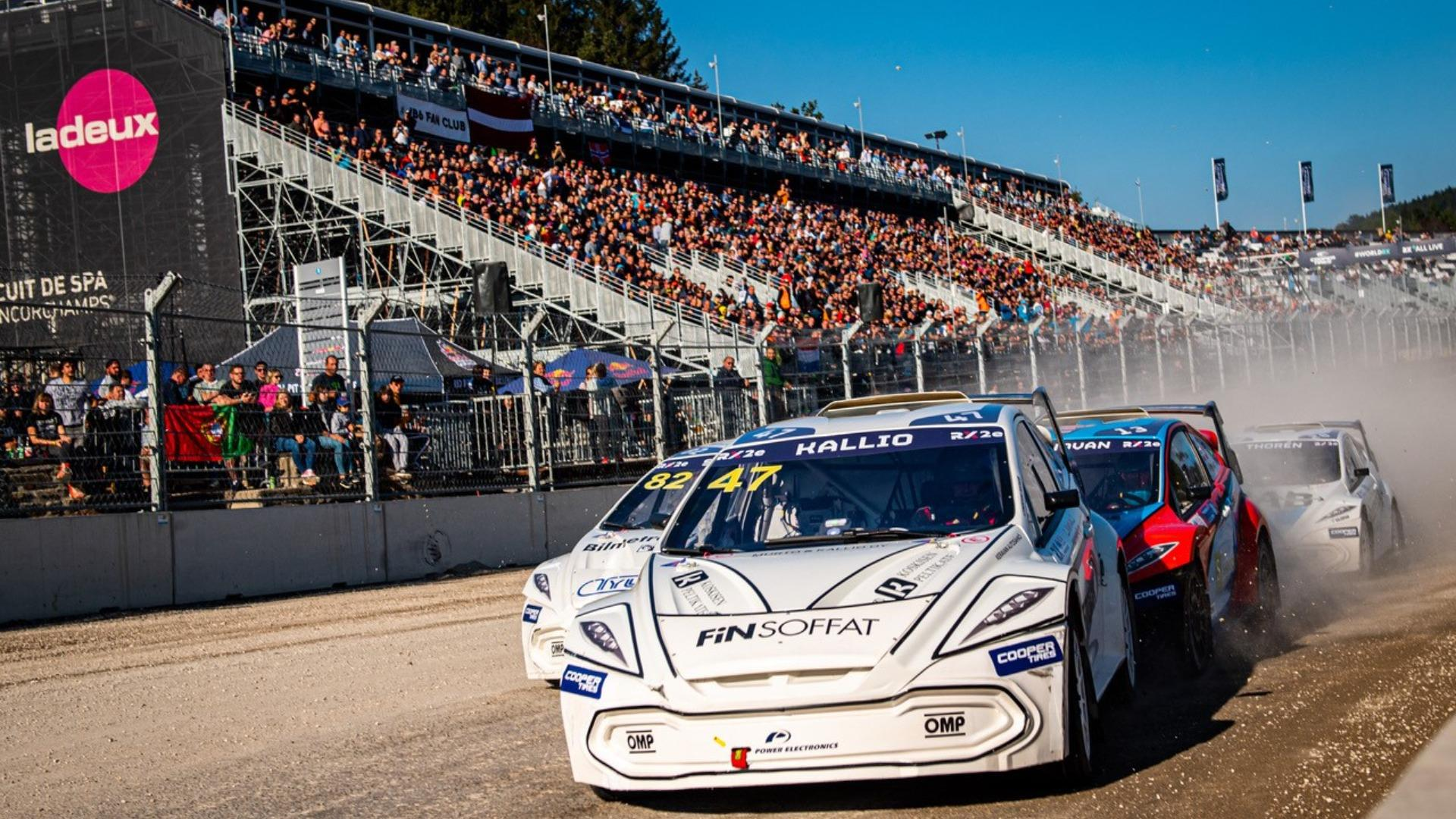Spa World RX of Benelux 2021: RX2e Event Highlights